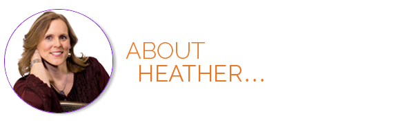 About Heather Title banner